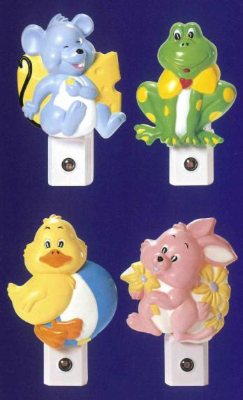Baby Lights - Baby Character Auto Night Lights